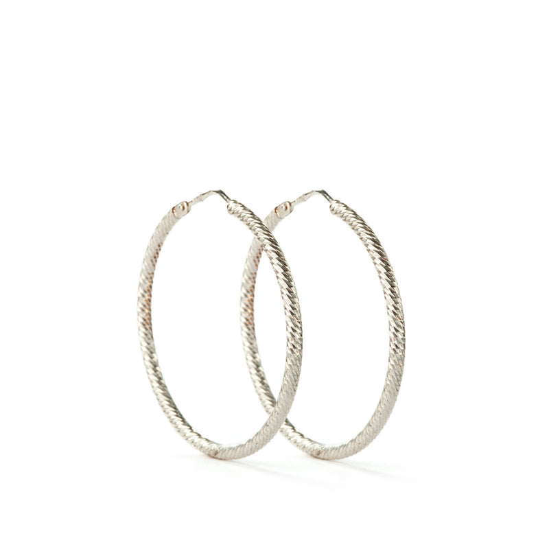 Roda Earrings SS - 30 mm