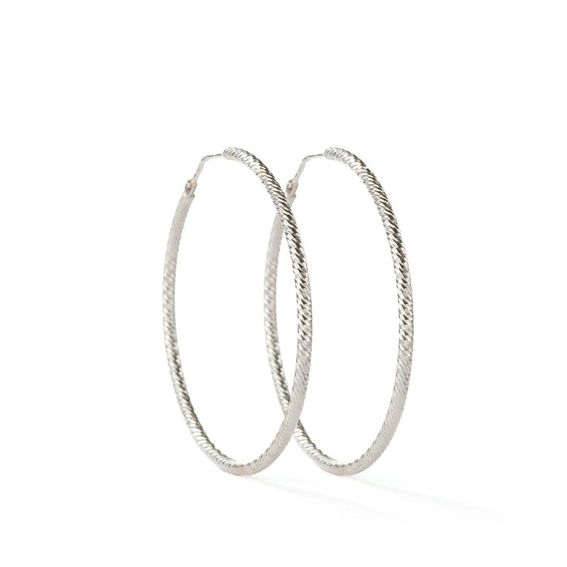 Roda Earrings SS - 40 mm