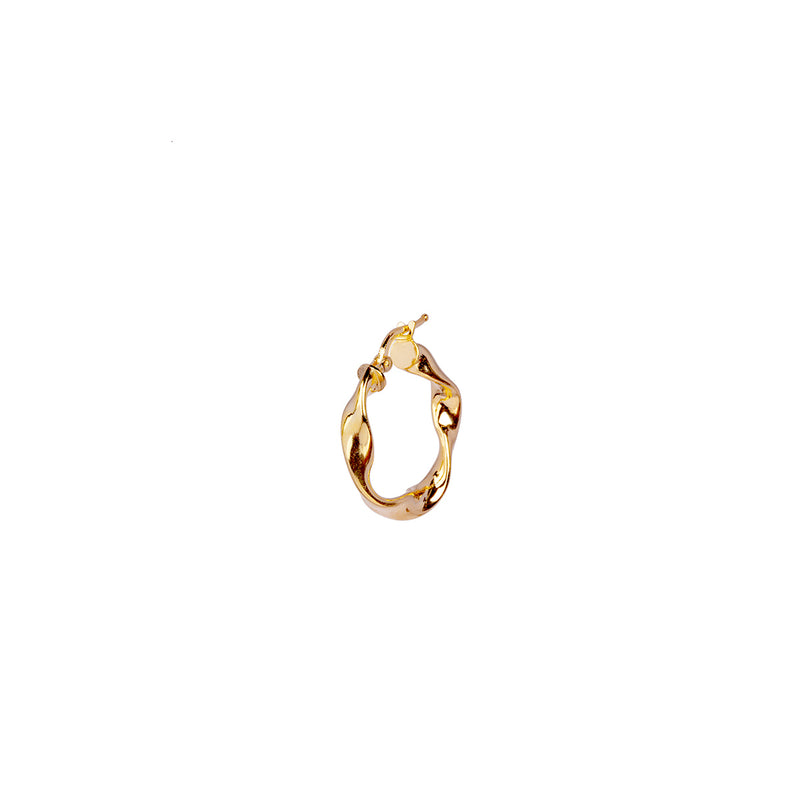 Skara Earring 25mm - Gold
