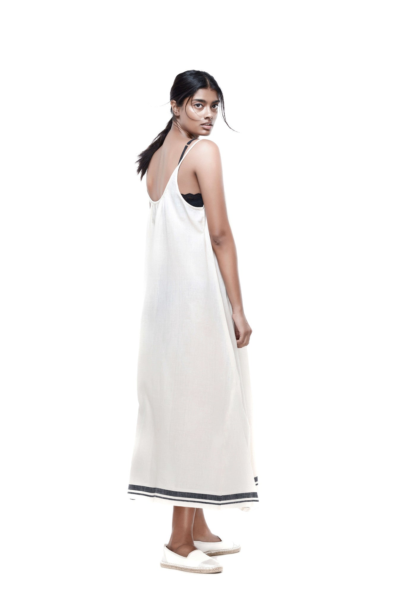 Kala Slip Dress Cream