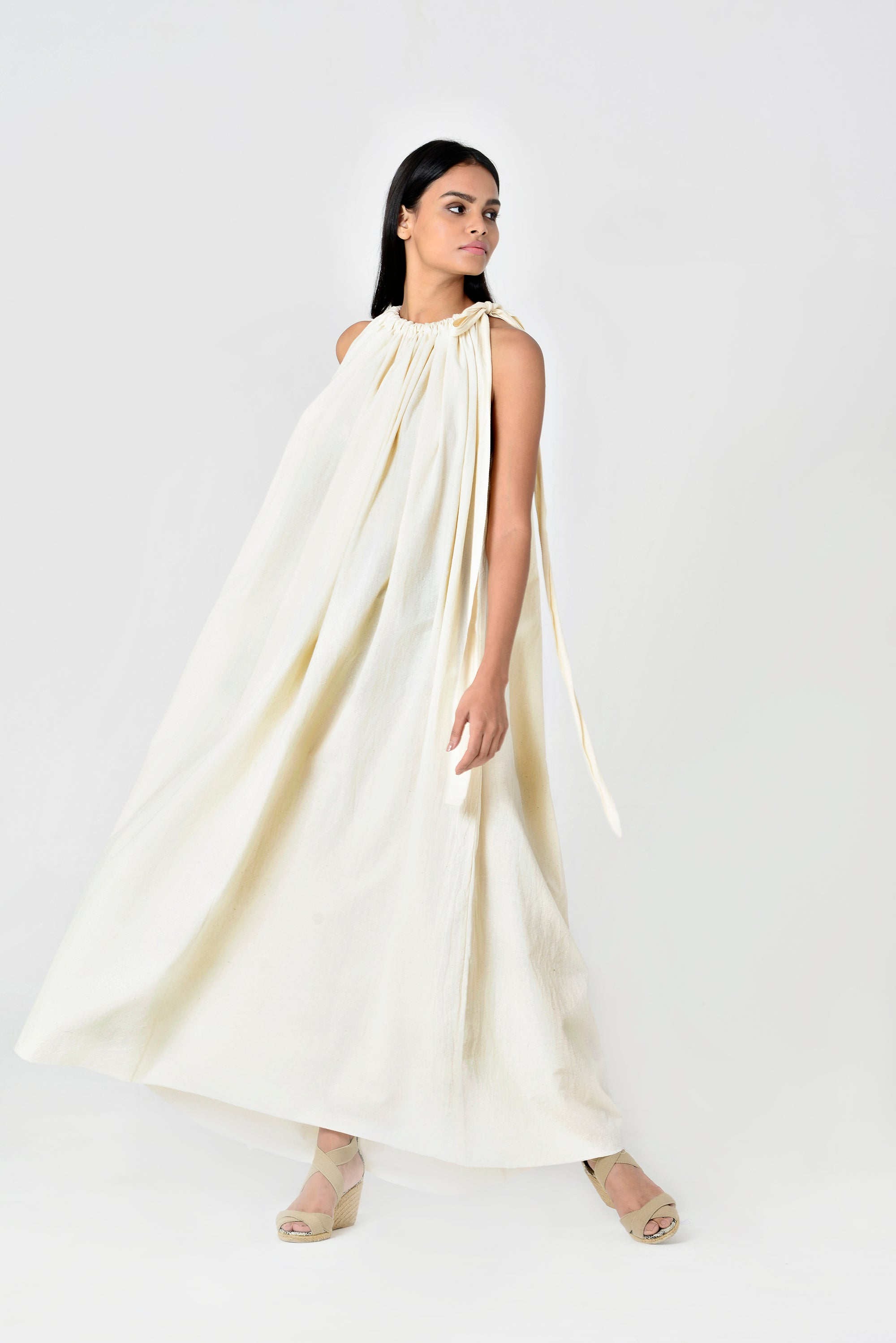 Rania Wang Dress Ivory