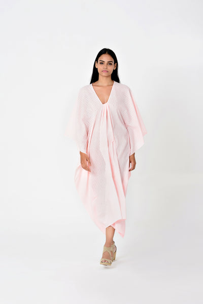 Zoey Piku Dress Blush