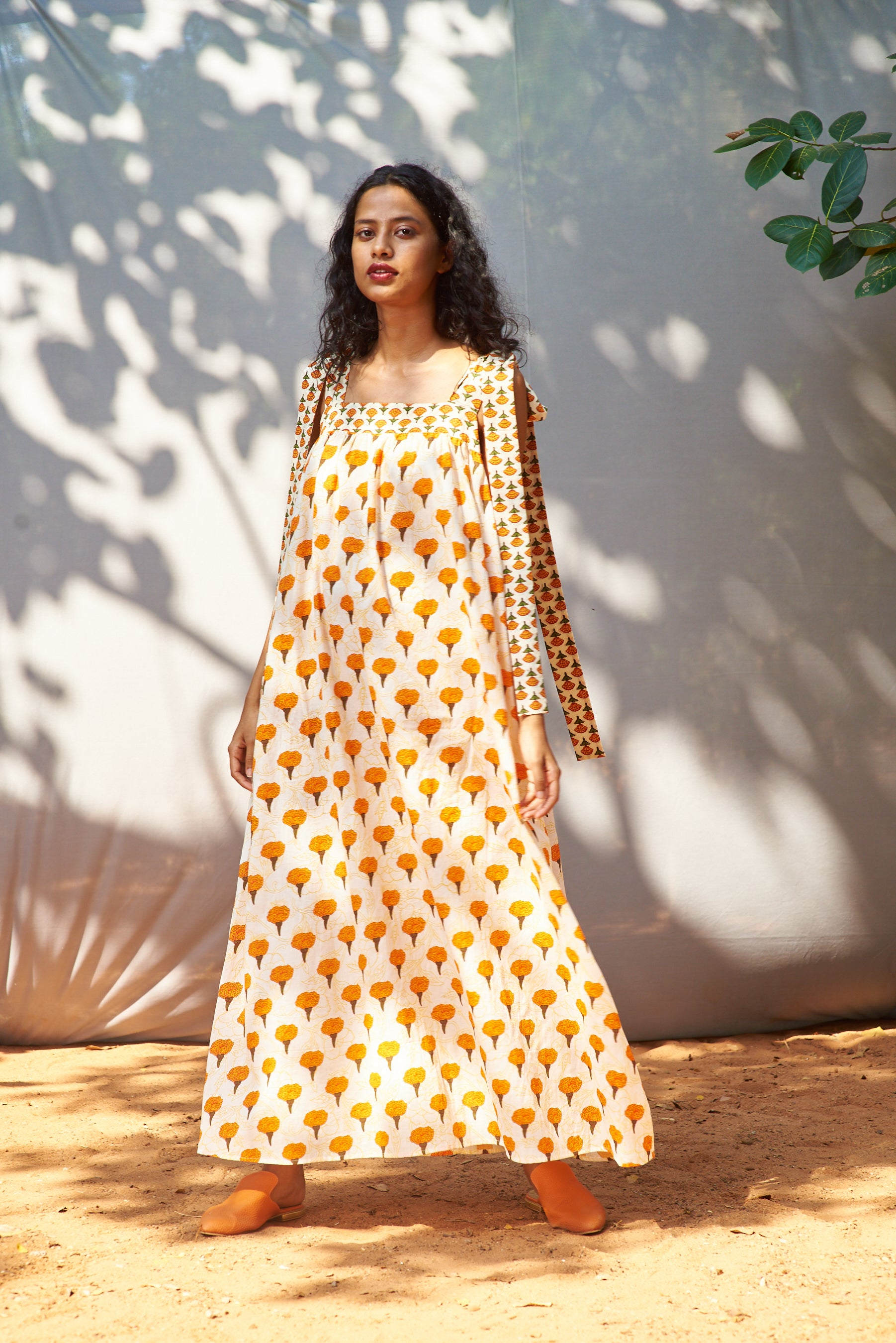 Aaiza Dress Marigold