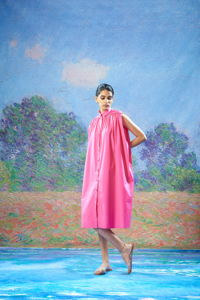 Geeta Dress Fuchsia