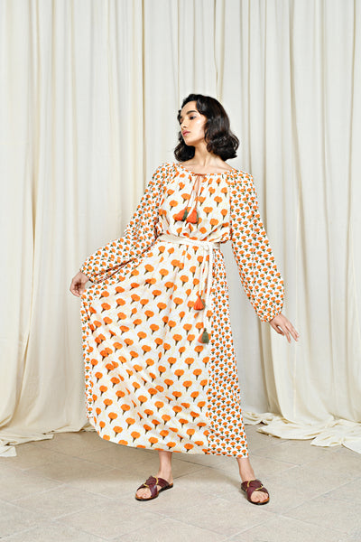 Huma Dress Marigold
