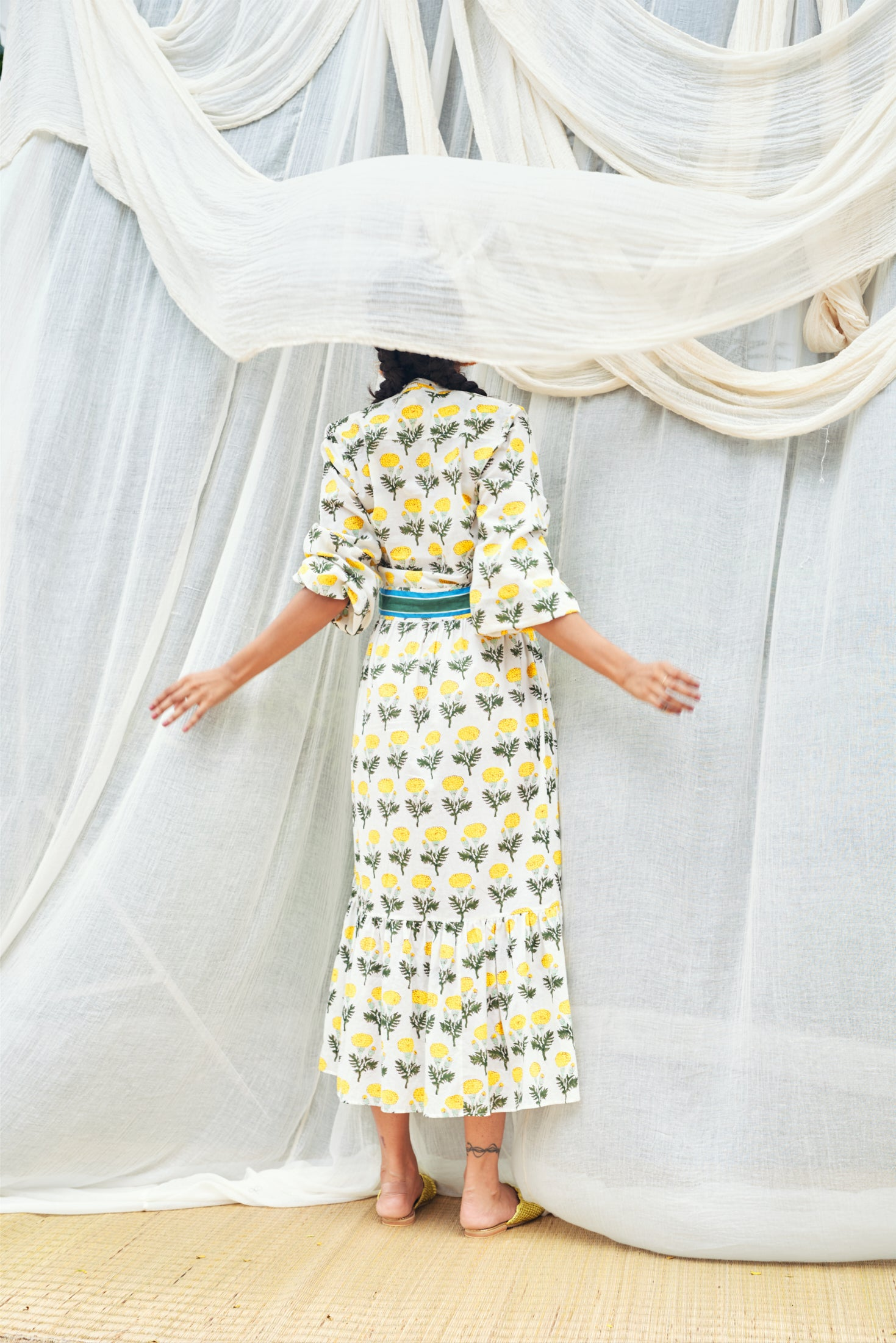 Inara Dress - Lemon