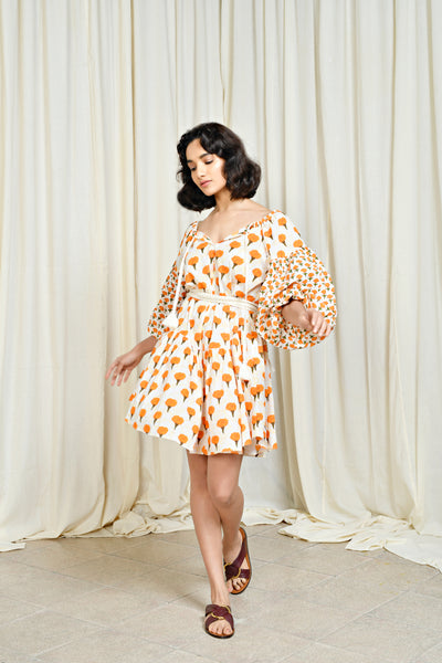 Sasha Dress Marigold