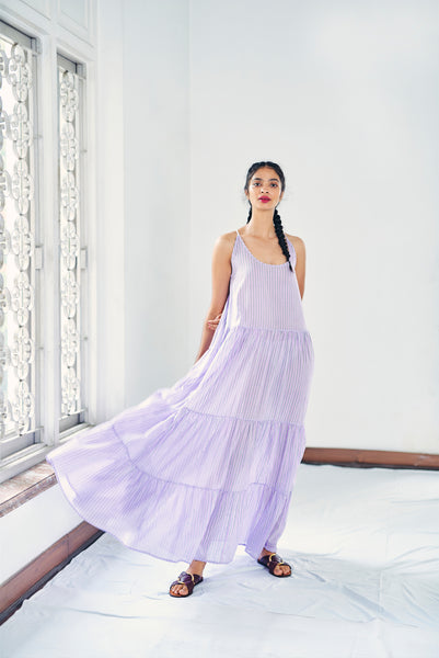 Simar Dress - Lavender