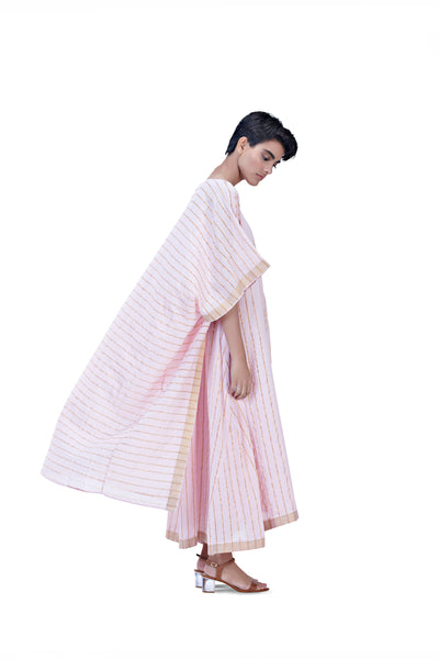 Sultan Mala Robe (Blush+Gold)