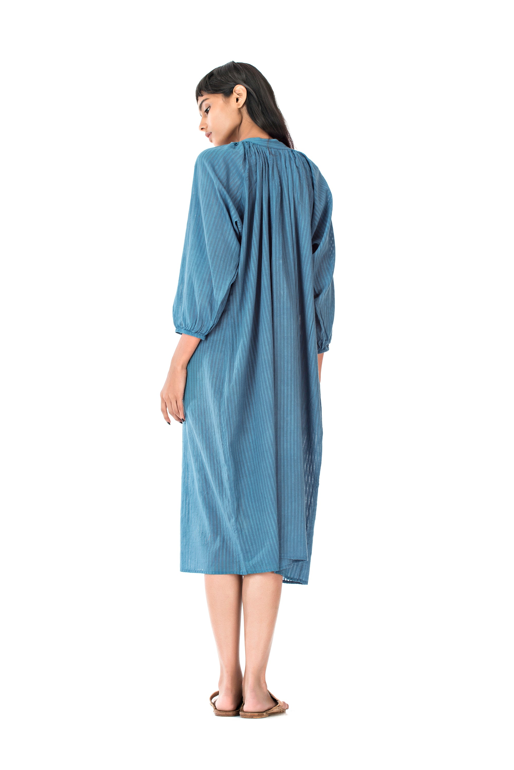 Zoey Rekha Dress Blue