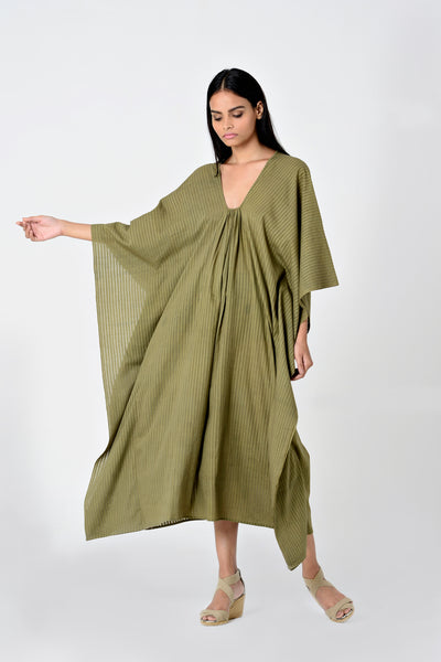 Zoey Piku Dress Olive