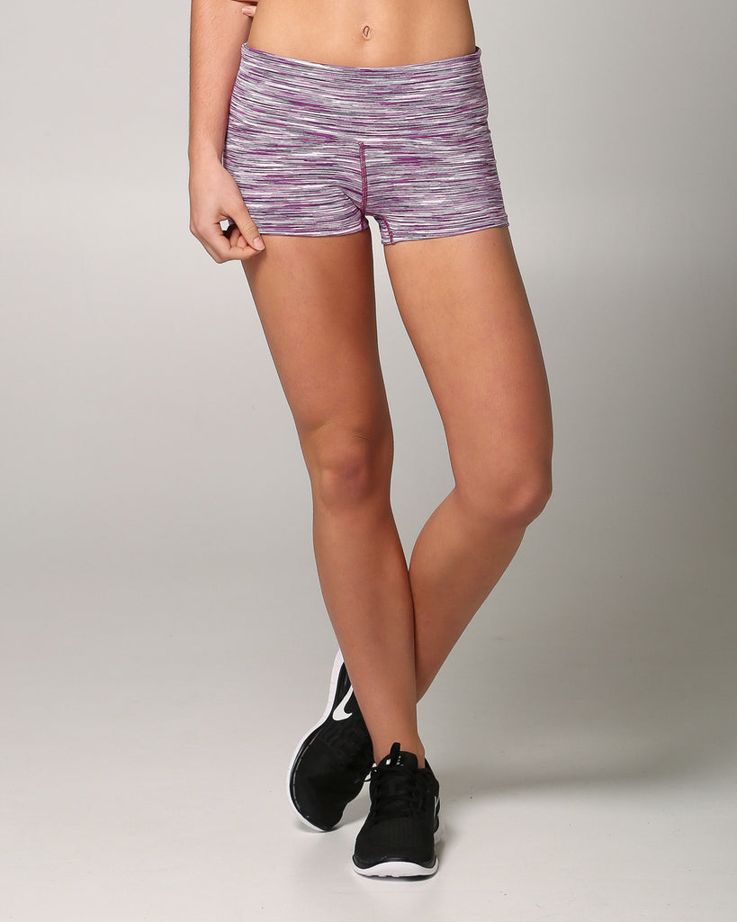 Womens Activewear Shorts, view: front