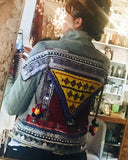 OOAK Embellished Denim Jacket