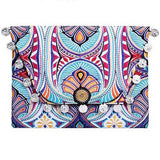 Indian Summer Clutch - White