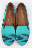 Ikat Jewel Smoking Flats