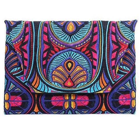Indian Summer Clutch
