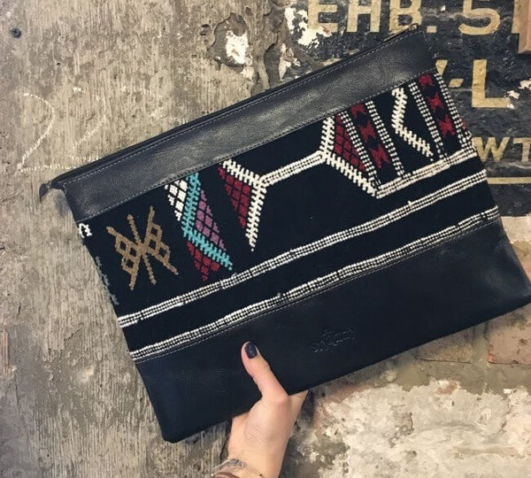 Boujaad Laptop Case - Black