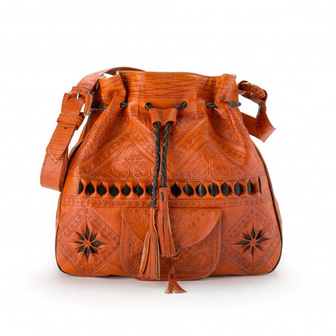 Wanderlust Morrocan Bag - Brown