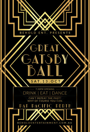 The Great Gatsby Ball [Perth]