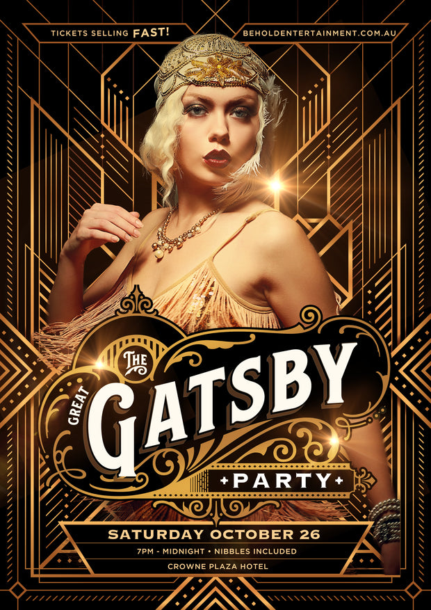 The Great Gatsby Party [Surfers Paradise] 2019