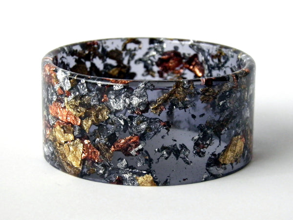 SALE SuperFancy Black Cuff Bangle