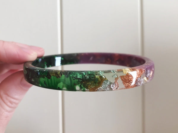 SALE Spring Stacker Bangle / REGULAR SIZE