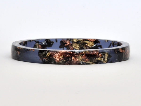 SuperFancy Black Stacker Bangle / REGULAR SIZE