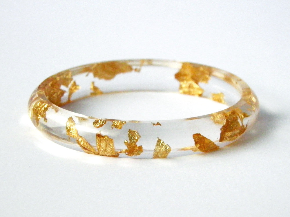 Gold Stacker Bangle / SMALL SIZE