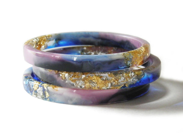 Supernova Resin Bangle / REGULAR SIZE