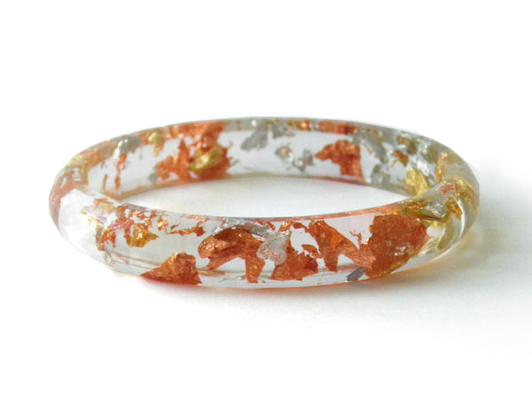 SuperFancy Clear Stacker Bangle / SMALL SIZE