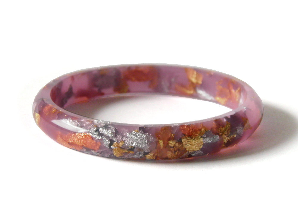 Lilac Stacker Bangle / SMALL SIZE