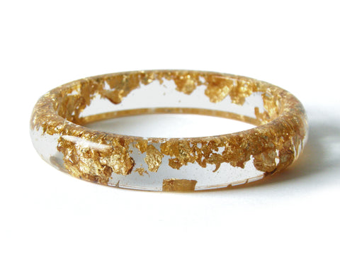 PREORDER Gold Stacker Bangle / XL SIZE