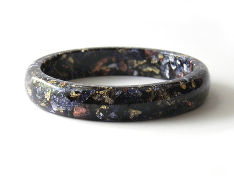 SuperFancy Black Stacker Bangle / XL SIZE