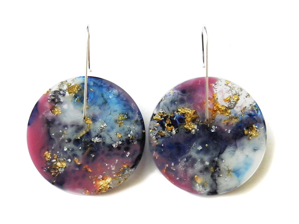 Supernova Circle Earrings / Large