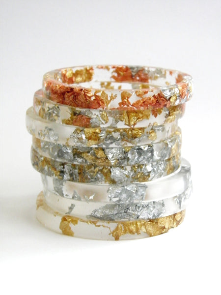 SuperFancy Clear Stacker Bangle / REGULAR SIZE