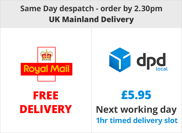 Free Delivery | Next Day £7.99