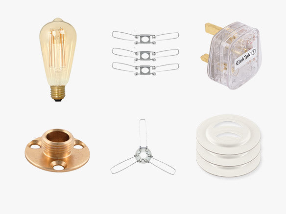 Lighting Parts Lamp Spares