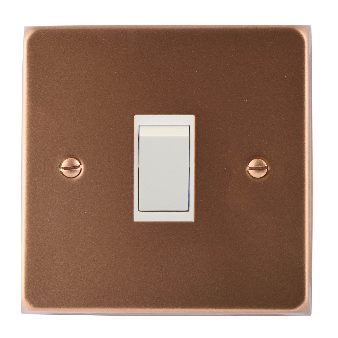 ElekTek Light Switch Conversion Cover Plate Single Victorian - Buy It Better Brilliant White