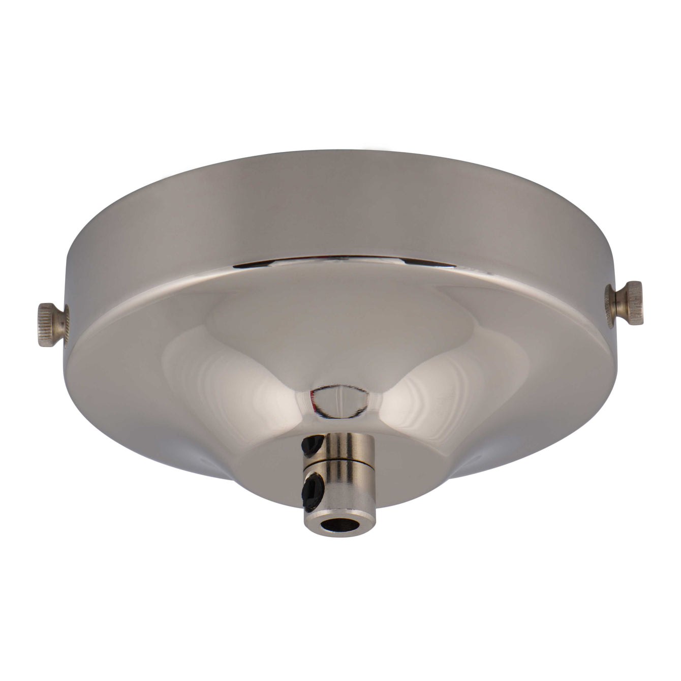 ElekTek 100mm Diameter Convex Ceiling Rose with Strap Bracket and Cord Grip Metallic Finishes Powder Coated Colours - Buy It Better Pink