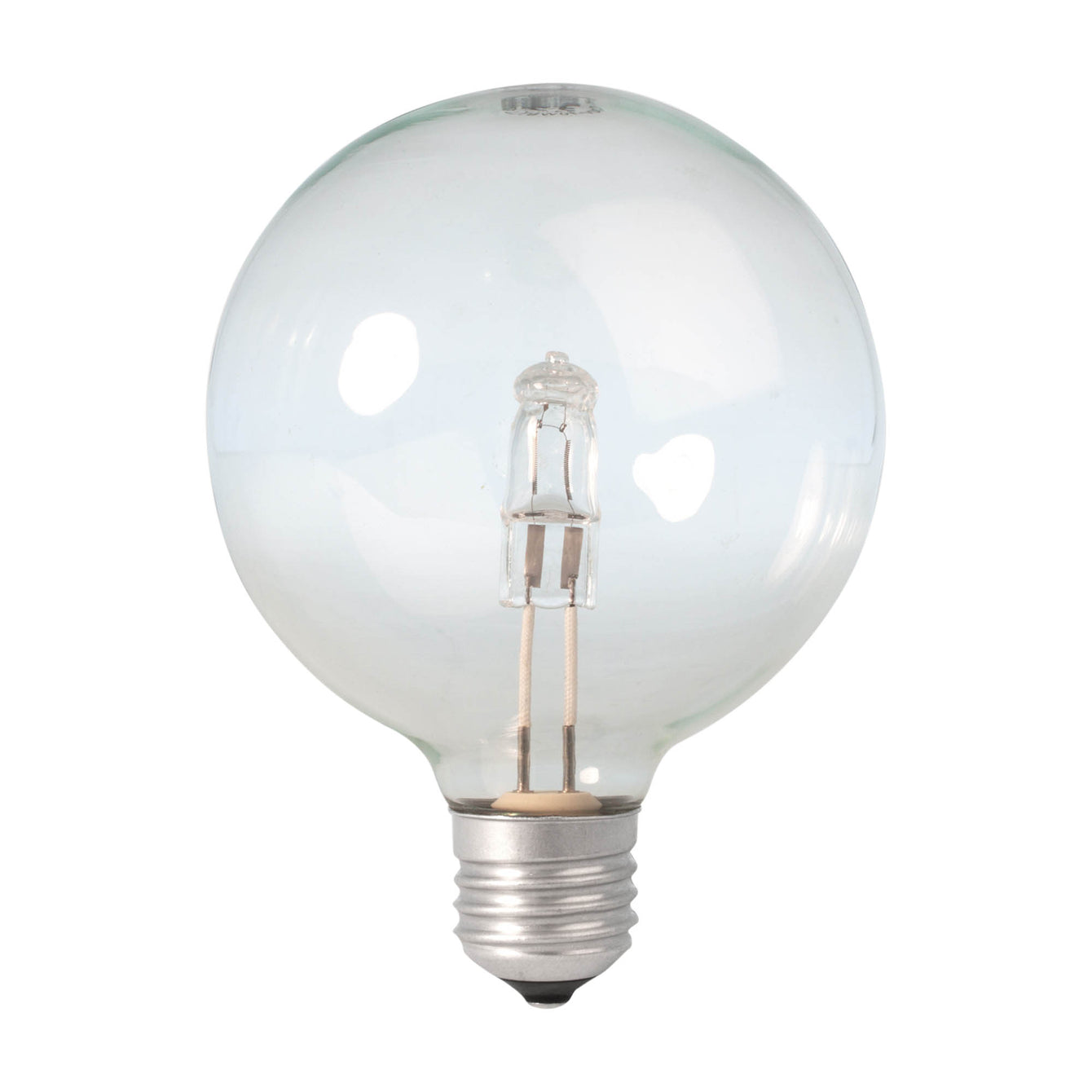 Calex Energy Saving Halogen Globe Lamp Bulb 230V 28W(37W) E27 G80 clear 508276 - Buy It Better Default Title