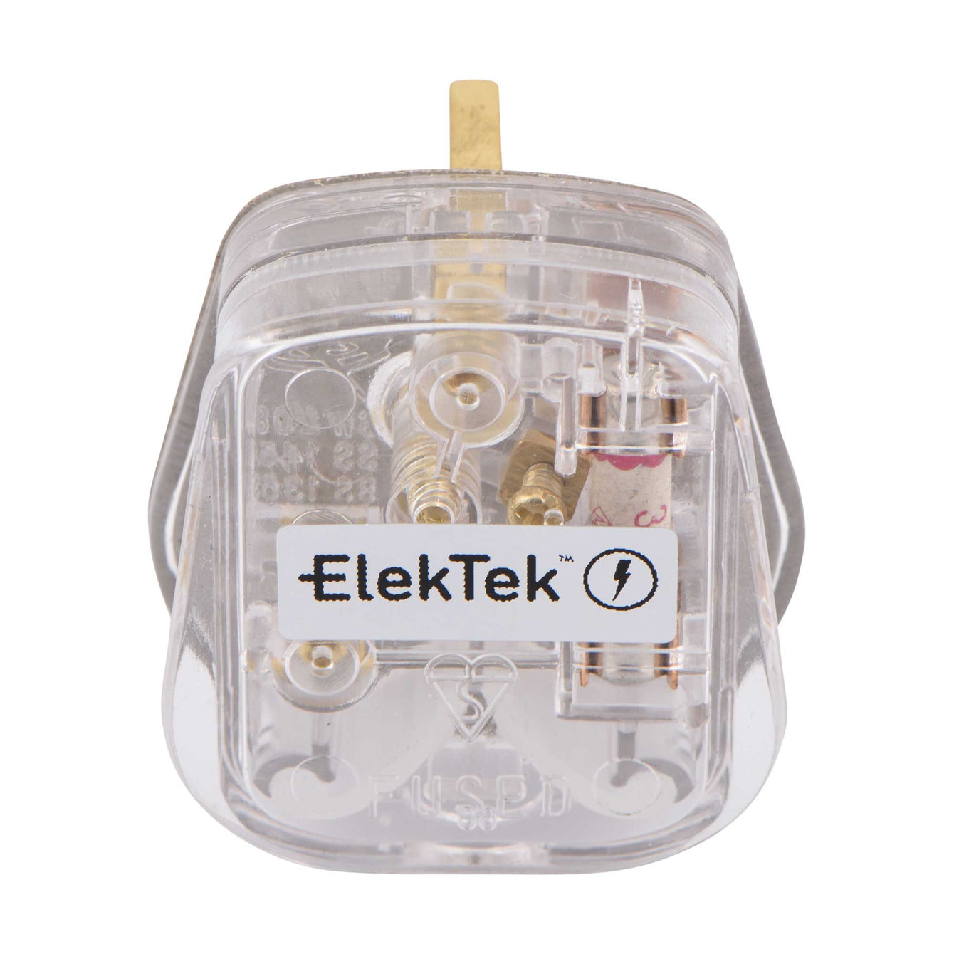 ElekTek 13A Plug Top with 3A Fuse Fitted Colours - Buy It Better