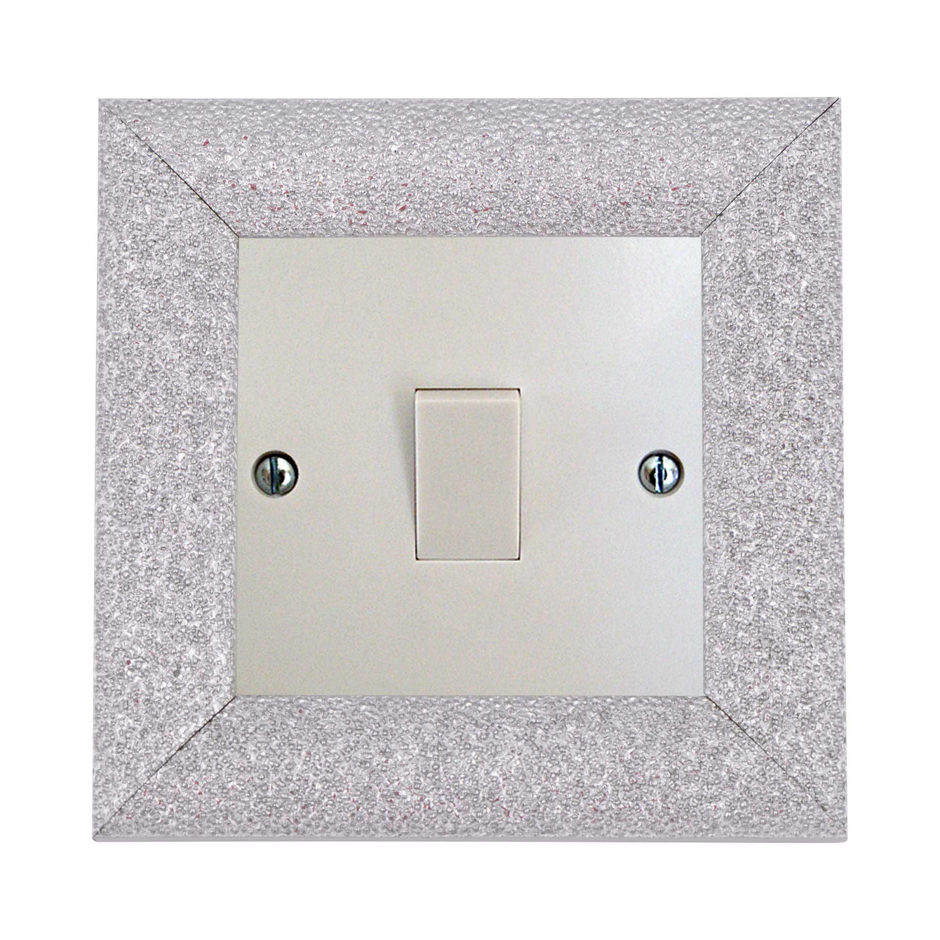 ElekTek Switch Surround Milano Frame Cover Finger Plate Colours - Buy It Better Gloss Black