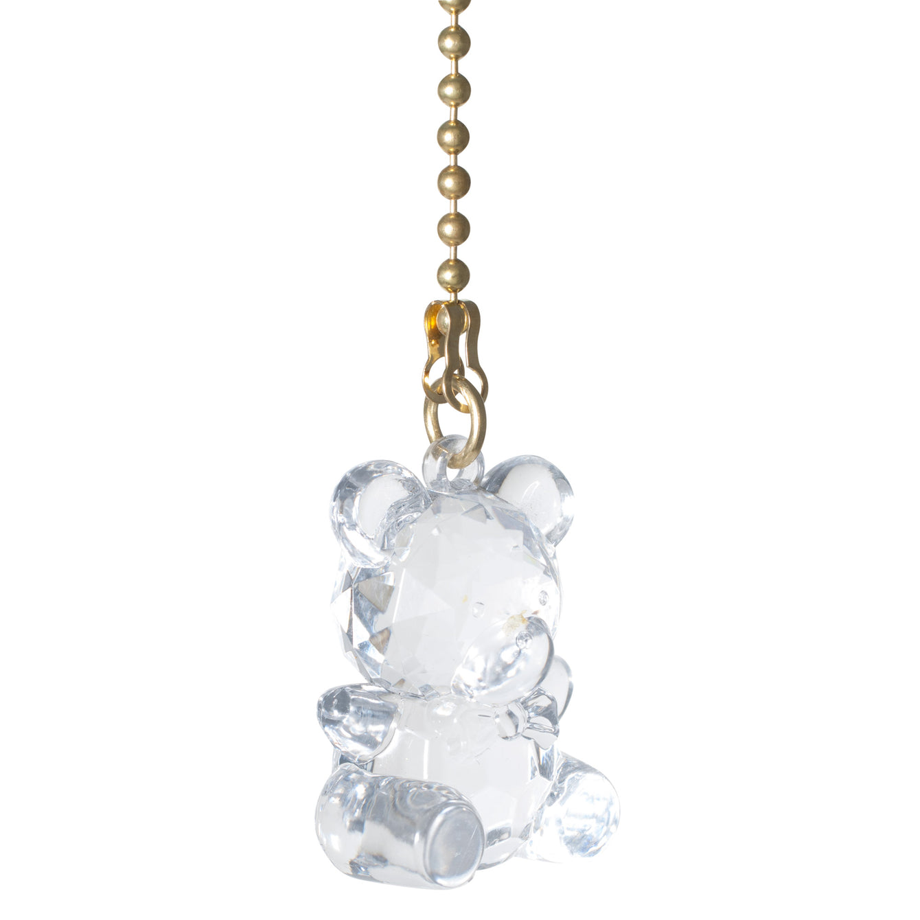 ElekTek Light Pull Chain Cord Acrylic Crystal Animals With 80cm Matching Chain - Buy It Better