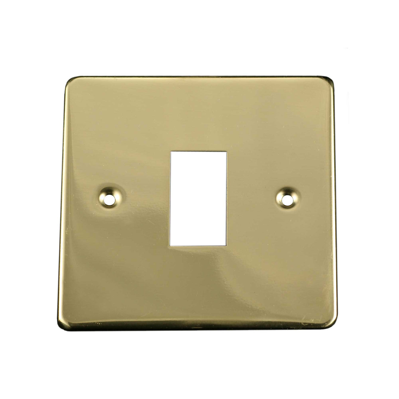 ElekTek Light Switch Conversion Cover Plate Single Victorian Antique Brass