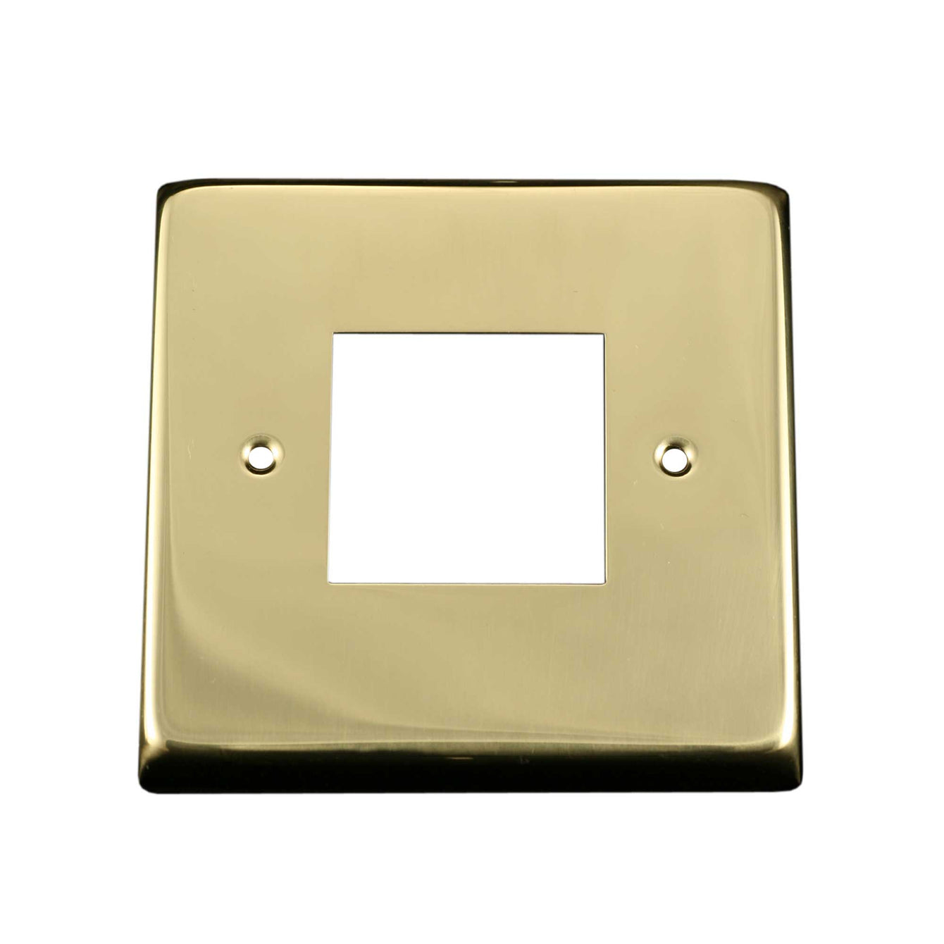 ElekTek Light Switch Conversion Cover Plate Double Victorian Antique Brass