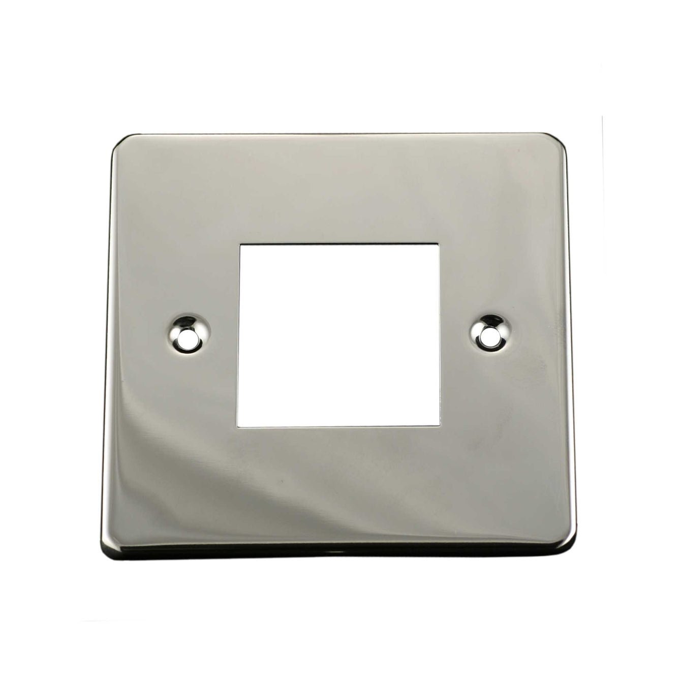 ElekTek Light Switch Conversion Cover Plate Double Victorian Willow Green