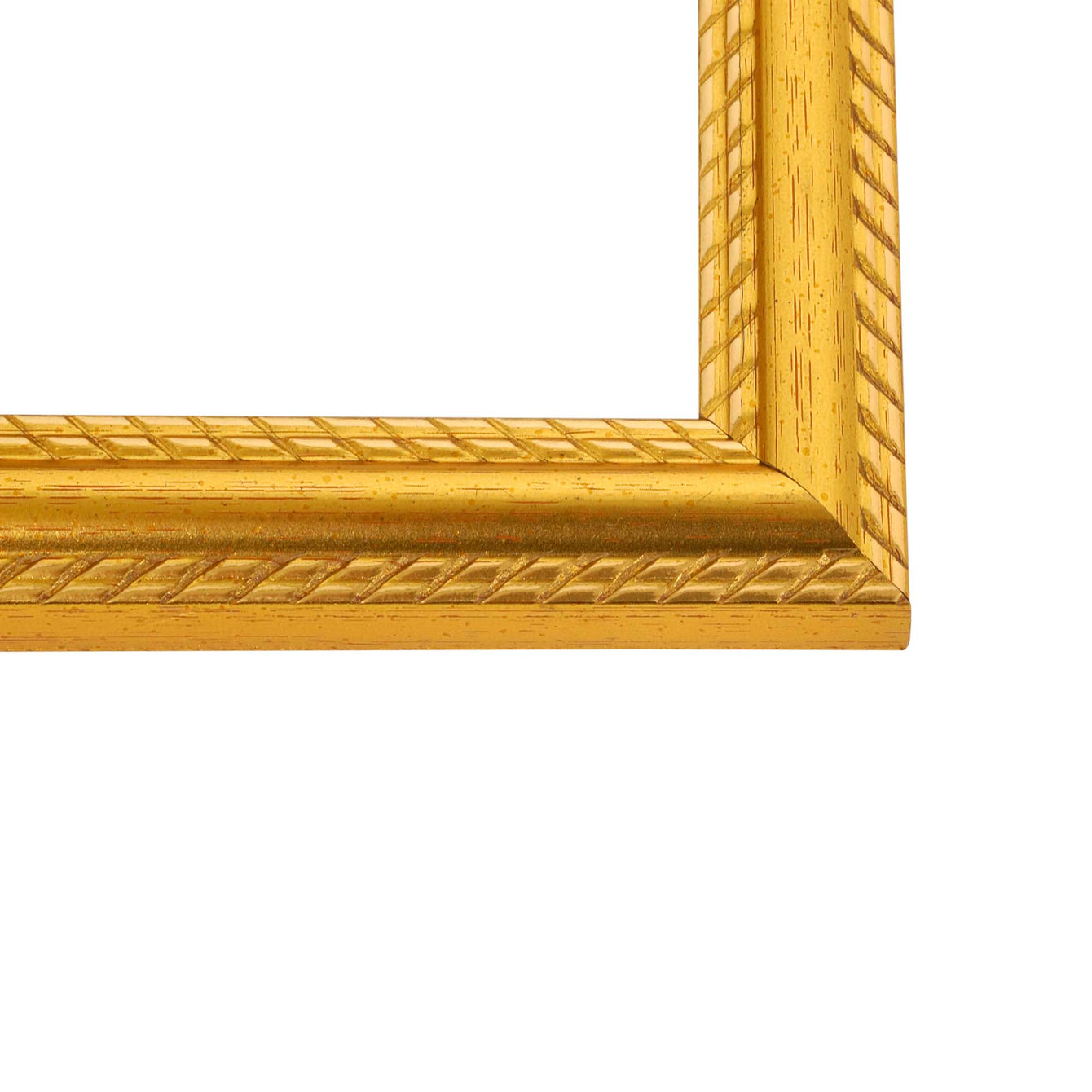 ElekTek Switch Surround Frame Cover Finger Plate Georgian Gold Rope Effect - Buy It Better