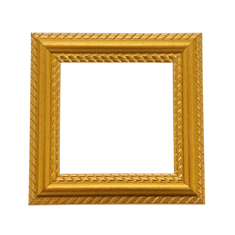ElekTek Switch Surround Georgian Gold Rope Effect Frame Cover Finger Plate