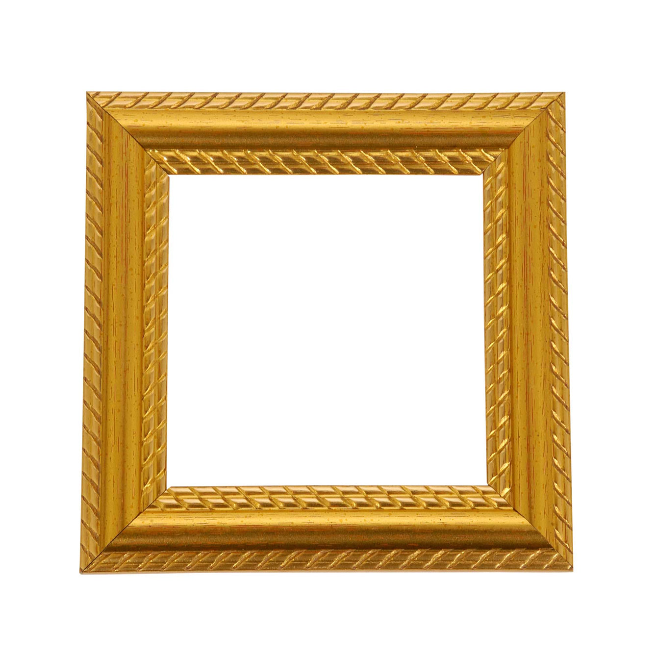 ElekTek Switch Surround Georgian Gold Rope Effect Frame Cover Finger Plate - Buy It Better Default Title