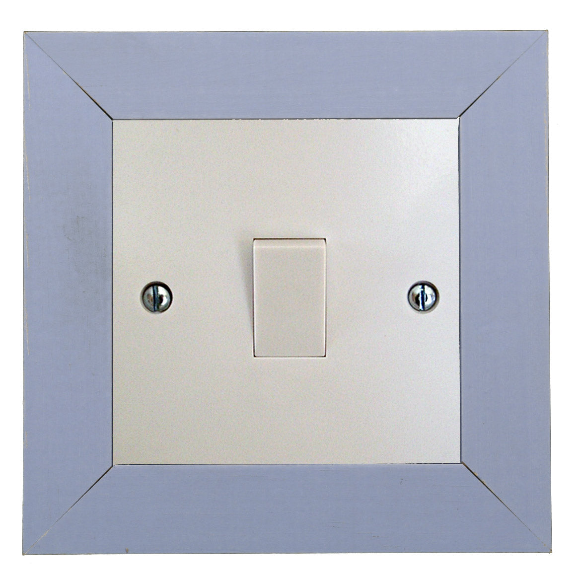 ElekTek Switch Surround Quadrant Frame Cover Finger Plate Primed Ready To Paint - Buy It Better